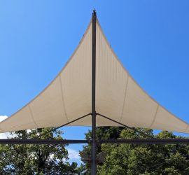 Sun Protection with a Shade Sail
